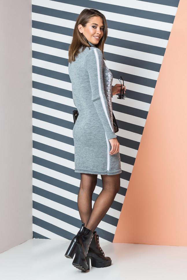 Вязаное платье с орнаментом  продажа db68fe70df26c