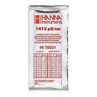 Калибровочный раствор HI70031 1413 µS/cm (мкСм) для кондуктометров 20мл HANNA (mdr_0392)