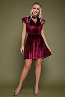 Платье Джолана бордо