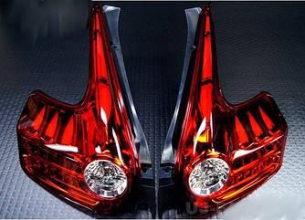 Фонари Nissan Juke тюнинг Led оптика (красные)