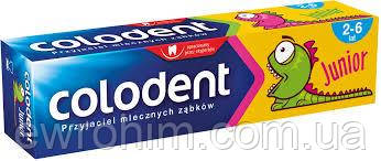 Детская зубная паста Colodent Junior (2-6 лет), 50 мл
