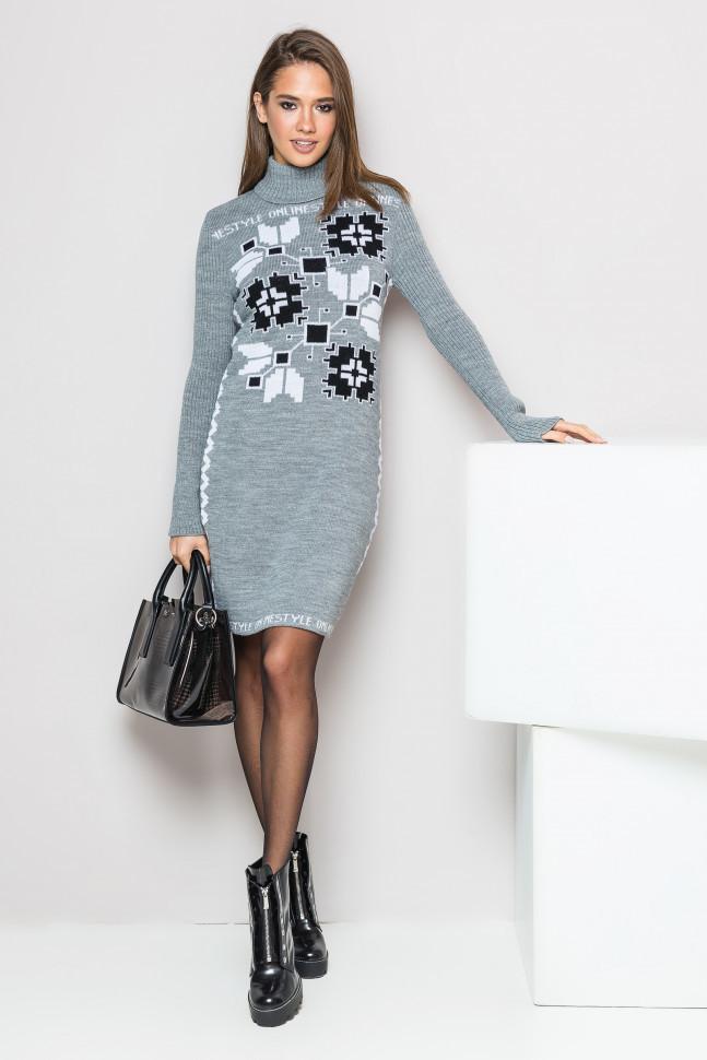 Креативное женское платье-вышиванка - Оптово - розничный магазин одежды