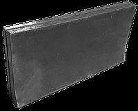 Резина на отвал (500х250х40мм) скребок, пластина для снегоуборочной техники