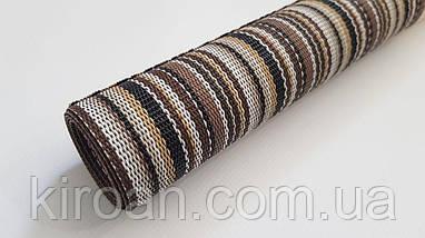 Термосалфетка, Скатерть, Коврик для стола 60*100 см (коричневая полоса), фото 3