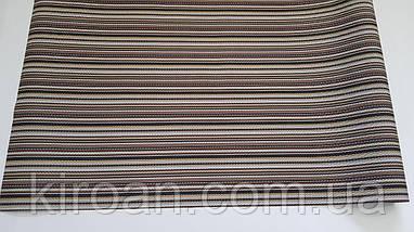 Термосалфетка, Скатерть, Коврик для стола 60*100 см (коричневая полоса), фото 2