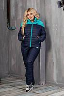 Женский зимний батальный костюм теплый на овчинке
