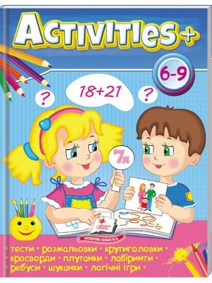 Тести для дітей. Activities 6-9+