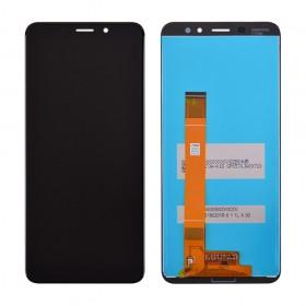 Дисплей модуль Meizu M6s в зборі з тачскріном, чорний