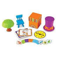 "Речевая игра на изучение предлогов  «Лисичка в коробочке» (англ. яз) Learning Resources ""Fox in the box"""
