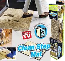 Придверный супервпитывающий коврик Clean Step Mat 80112  Коричневый