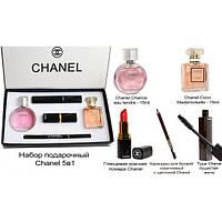 Подарочный набор для макияжа + духи CHANEL sv026415es
