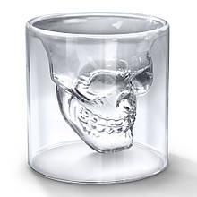 Стакан с черепом внутри DOOMED 85 мл стакан для виски с черепом 8011331 Стекло