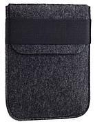 Чехол войлочный на резинке Gmakin для Amazon Kindle Paperwhite Темно-серый (GK02)