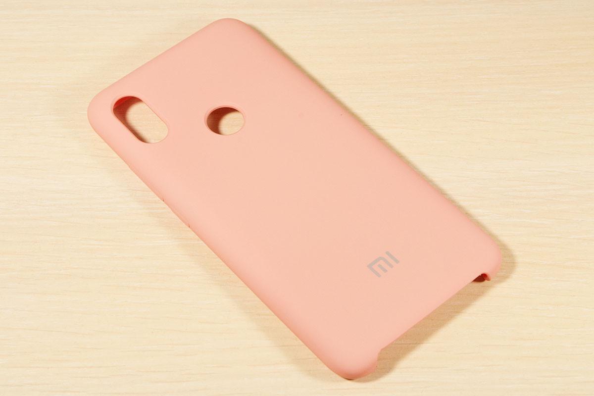 Оригинальный чехол для Xiaomi Redmi S2 Silicone Cover (Розовый)