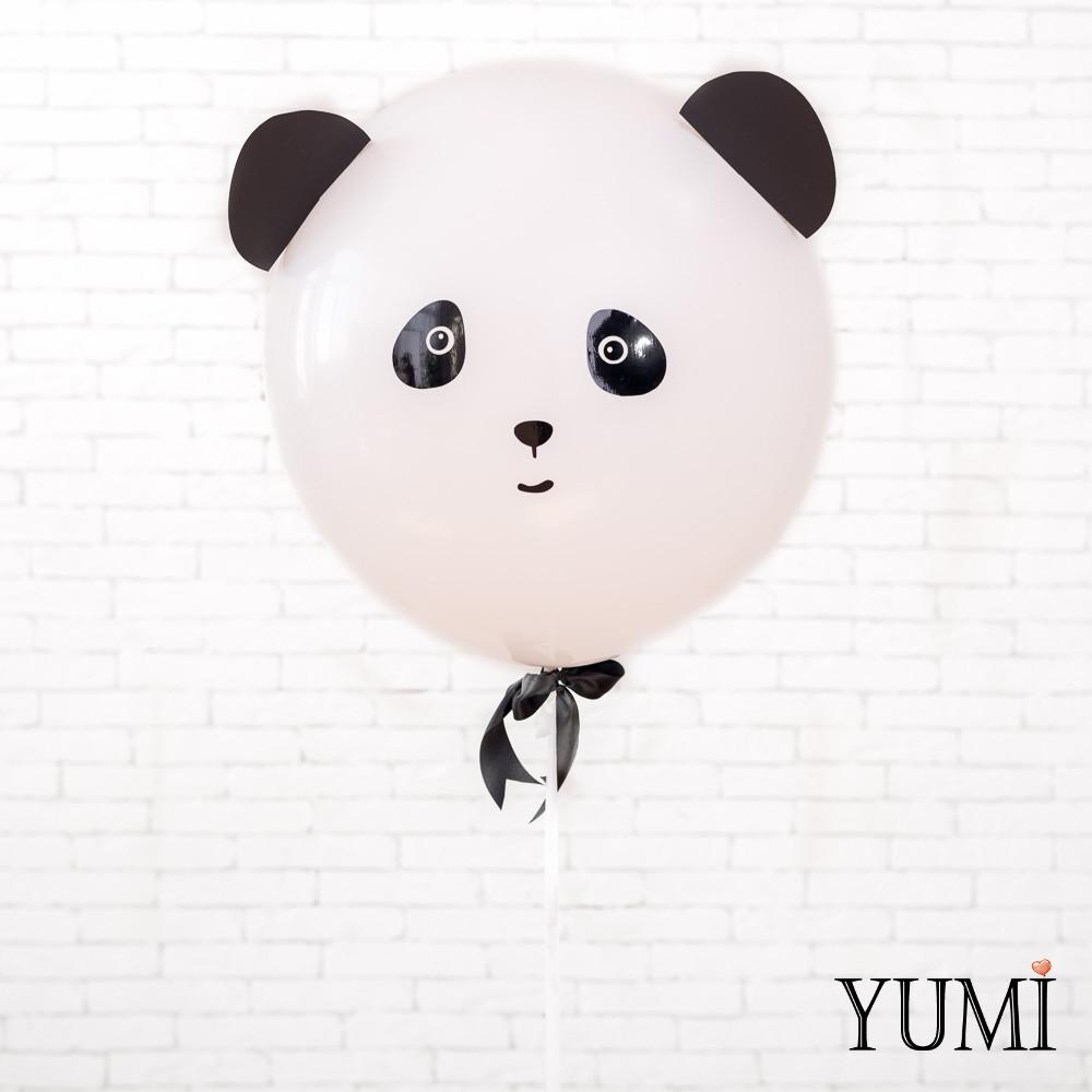 "Воздушный шар-гигант 50 см белый ""Панда"""