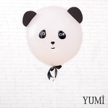 "Воздушный шар-гигант 50 см белый ""Панда"", фото 2"