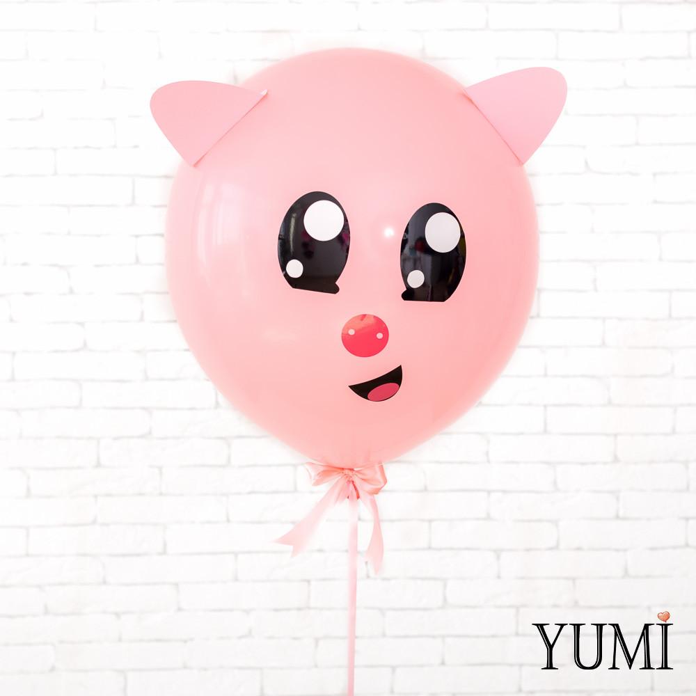 """Воздушный шар-гигант с декором """"Нюша"""""""