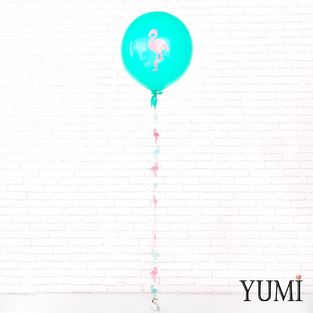 Воздушный гелиевый шар-гигант мини с декором