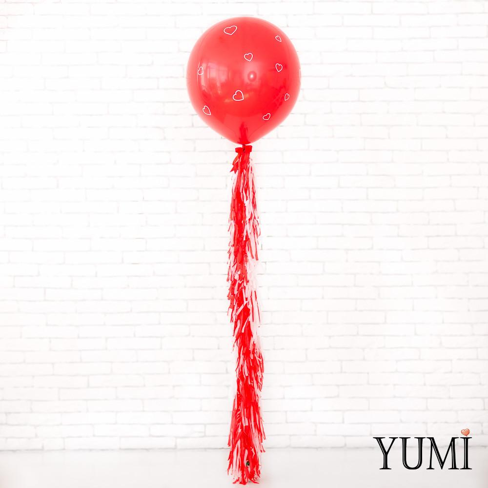 Гелиевый шар-гигант с декором для любимого человека