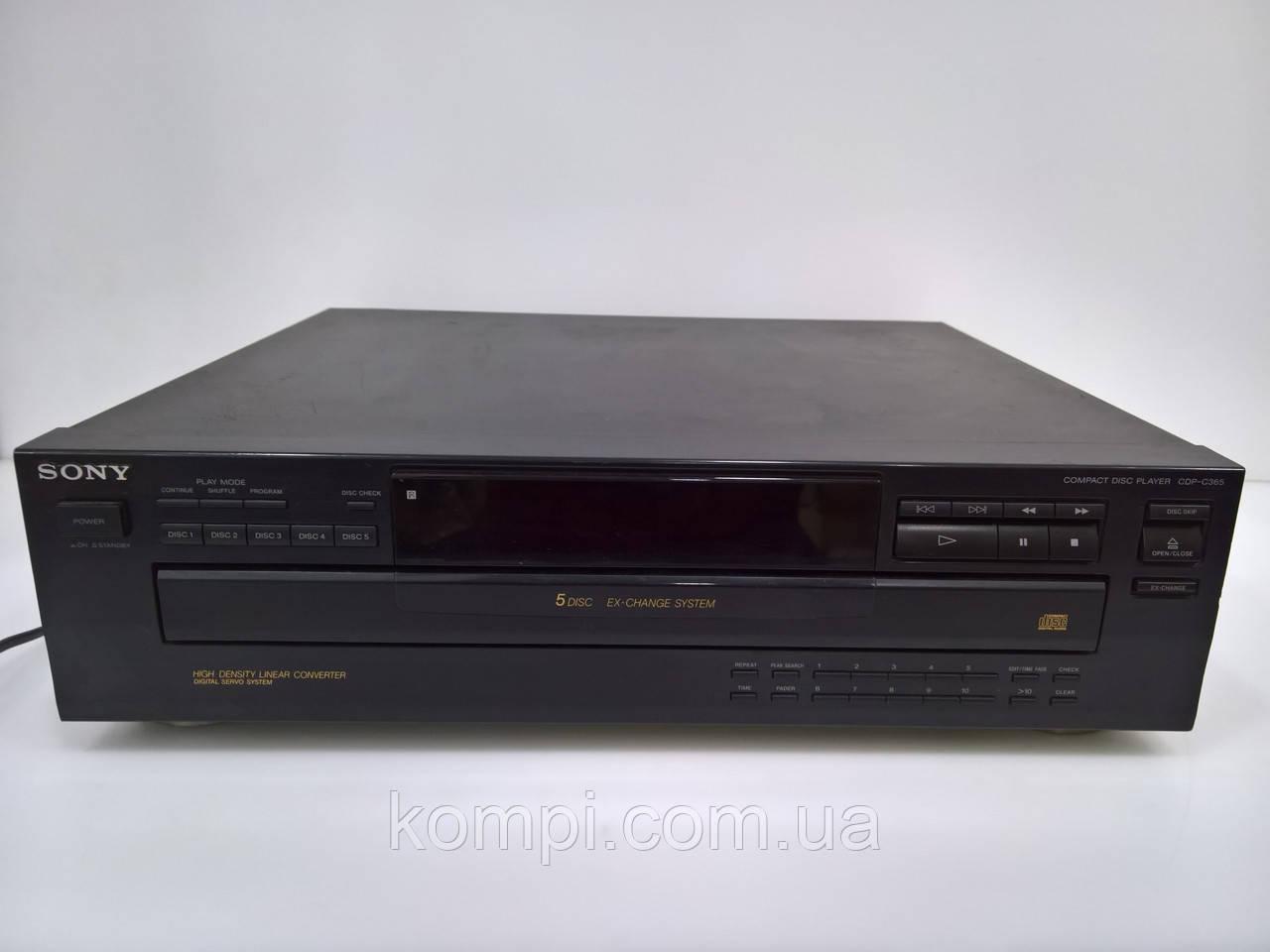 CD проигрыватель SONY C365 5xCD Changer
