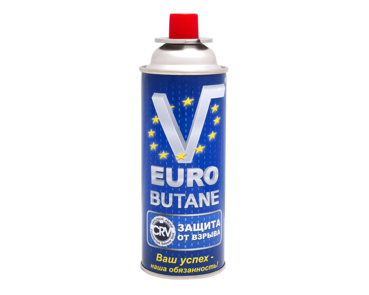 Газовый баллон Euro Butane 227г с системой СRV Корея