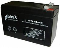 Аккумулятор triniX 12V 7Аh/20HR  Черный