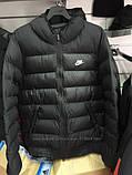 Мужская куртка Nike черная еврозима., фото 4