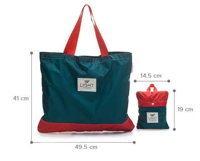 Размеры сумки-шоппера