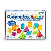 Обучающий игровой набор 3D-ГЕОМЕТРИЯ Learning Resources LER4331, фото 1