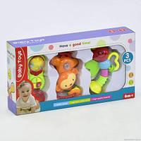 Набор музыкальных погремушек  Baby Toys  (3 шт)