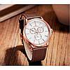 Мужские часы Naviforce Business Leather Gold NF3001, фото 4
