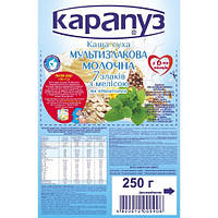 Каша молочная мультизлаковая молочная 7 злаков с витаминами и мелиссой с 6 мес  Капапуз  250 гр