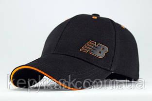 Бейсболка коттон с оранжевым кантом, фото 3