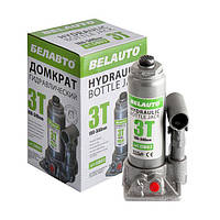Домкрат гидравлический бутылочный 3т БЕЛАВТО
