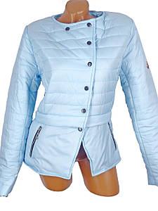 Красивая курточка ассиметрия 44
