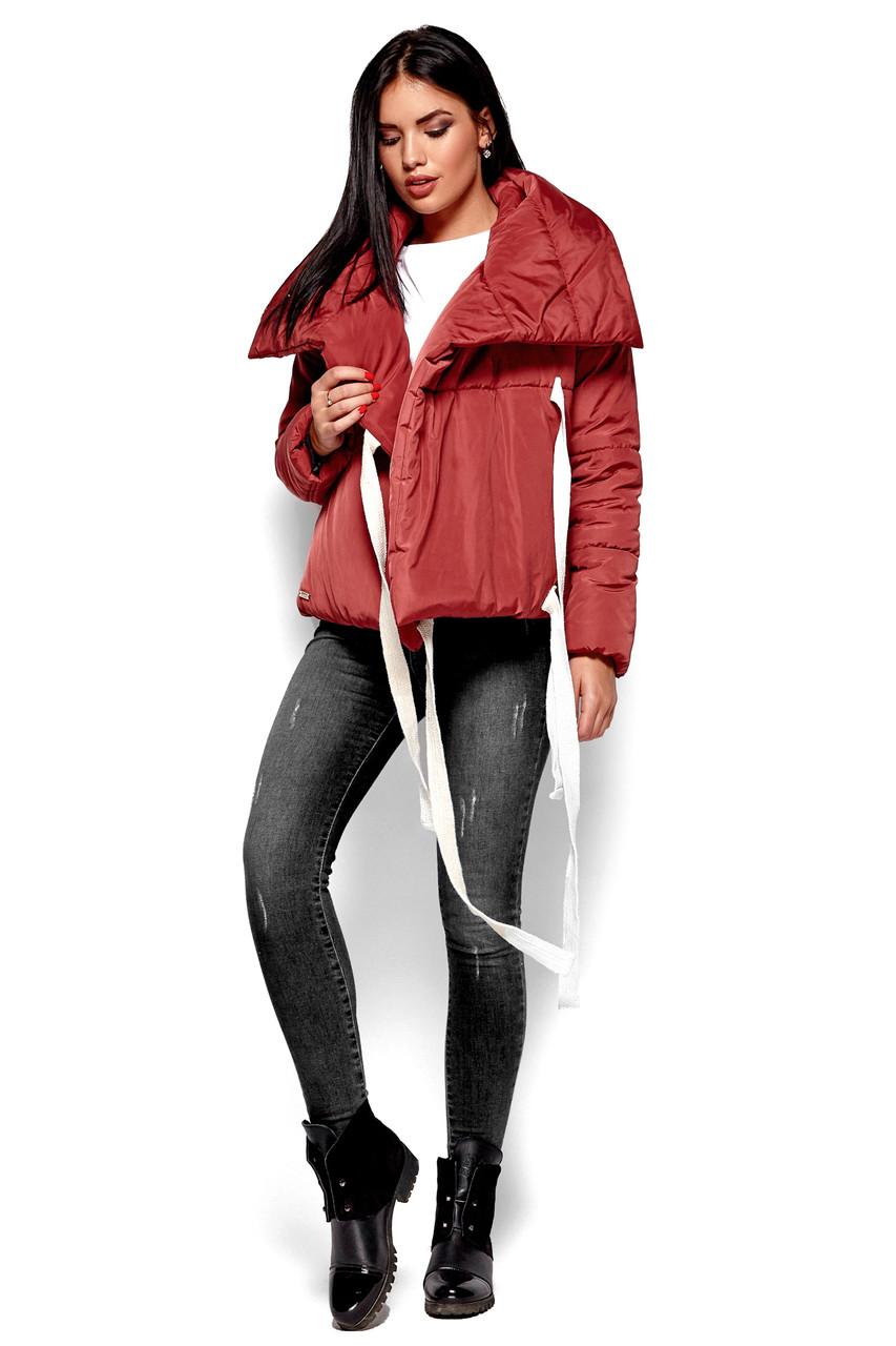 Короткая зимняя куртка женская, фото 1