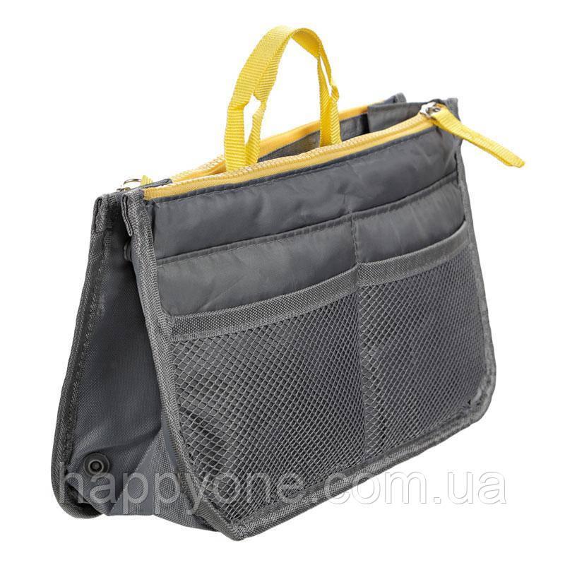 Органайзер в сумку Bag in Bag (cерый)