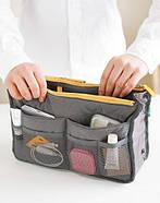 Органайзер в сумку Bag in Bag (cерый), фото 3