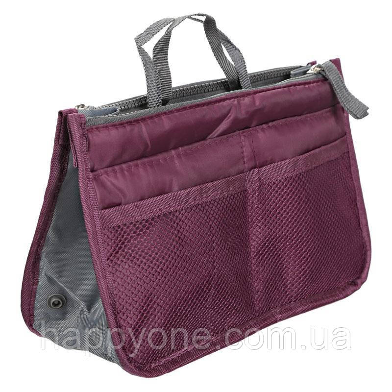 Органайзер в сумку Bag in Bag (бордо)