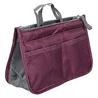 Органайзер в сумку Bag in Bag (бордо), фото 1