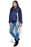 Темно-синяя куртка-одеяло, фото 1
