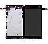Дисплей (экран) для Microsoft 535 Lumia (RM-1090) + тачскрин (CT2S1973FPC-A1-E), с передней панелью, оригинал