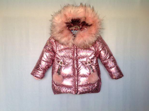 3847c8856946 Зимняя куртка парка для девочки 2-5 лет