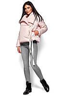 Короткая женская куртка-одеяло зимняя, фото 1