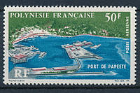 Франция - авиапочта Полинезии 1966 г