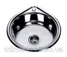 MR 530 Мойка круглая, врезная 530х180