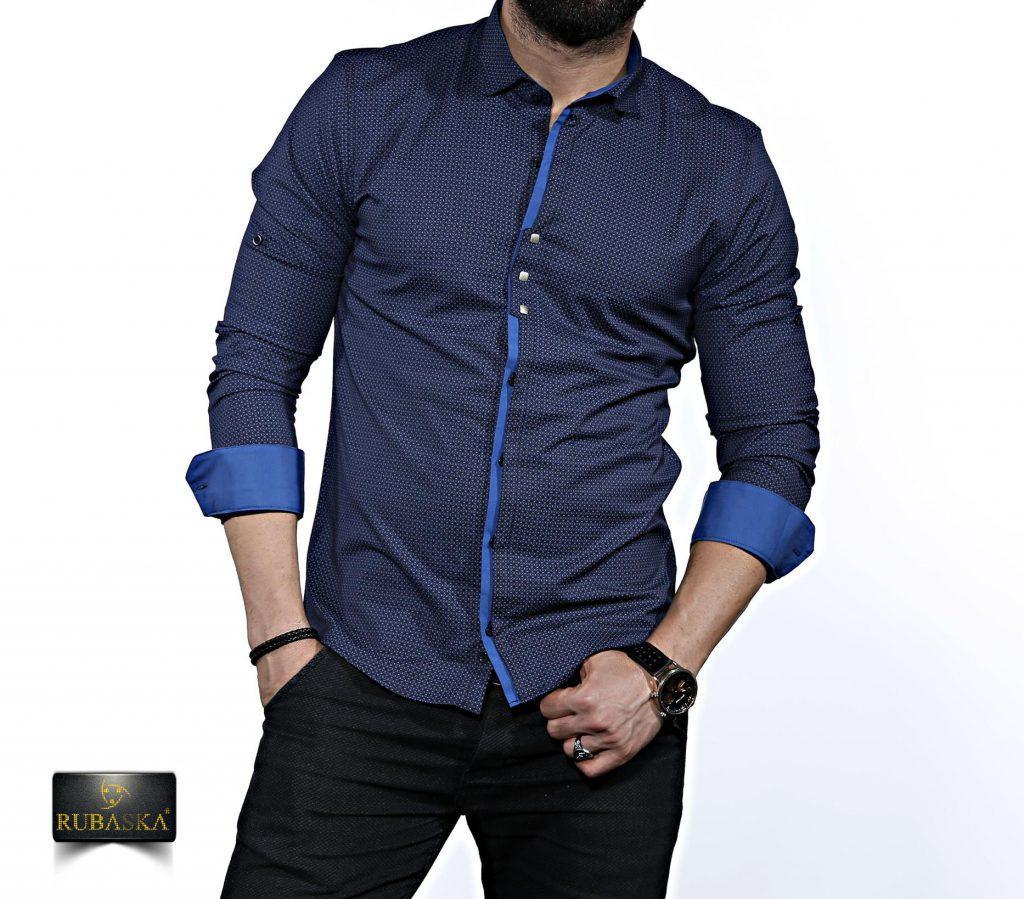 e1ff09b3666ce25 Стильная мужская рубашка с длинным рукавом-трансформером, новинка из Турции  -