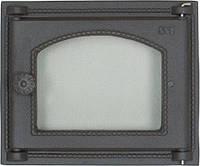 Дверца чугунная SVT 451 для печи и камина (290 х 345 мм)
