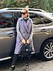 """Удлиненный женский стеганый жилет """"Canada"""" с карманами (большие размеры), фото 3"""