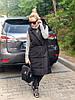 """Удлиненный женский стеганый жилет """"Canada"""" с карманами (большие размеры), фото 6"""